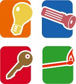 Objects Icon Set