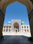 View Of Mir-i-arab Medressa From Kalon Mosque - Bukhara