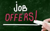Job Offers Concept