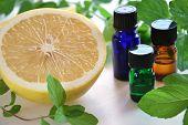 aromatherapy with grapefruit