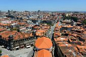 Porto Old City aerial view, Portugal