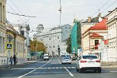 View Historic Solyanka Street In Moscow
