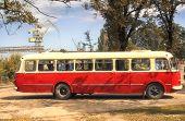 old bus retro style