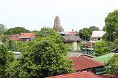 Old Thai Village  In Ayutthaya