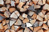 Background Of Firewood