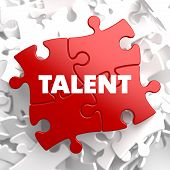 Talent on Red Puzzle.