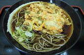 Japanese Soba With Vegetable Tempura