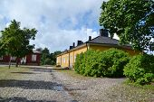 Street In Lappeenranta, Finland