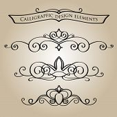 Calligraphical ornament