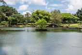 The Japanese Gardens in Hilo, Hawaii