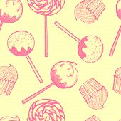 Sweets Pattern.