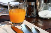 Refreshing Juice Drink Closeup