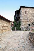 Old Platamonas Village, Greece Olympus Mountain