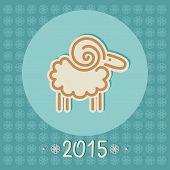 Decorative Christmas Sheep