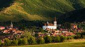 Rasinari Village In Sibiu, Transylvania Romania