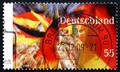Postage Stamp Germany 2009 German Flag