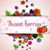 Fresh berries card