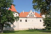Castle In The Town Of Bauska, Latvia