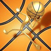 3D Basketball Concept