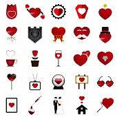 picture of soulmate  - The 25 Vector Love Heart Illustration Set - JPG