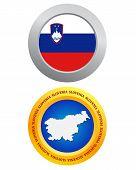 Button As A Symbol Slovenia