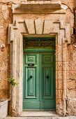 Green House door in Malta