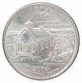 Quarter Dollar Coin