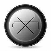 Empty Battery Icon