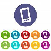 Telephone flat icon