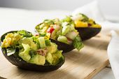 Reinvented Guacamike Slices Avocado Salad
