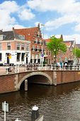 historical centre of  Haarlem, Netherlands
