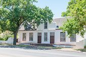Historical Building In Stellenbosch