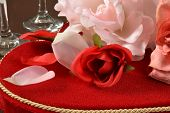 Valentines Day Roses And Chocolates