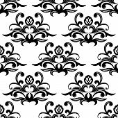 Dainty floral seamless pattern