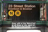 23Rd Street Subway Station, New York