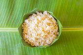 pic of rice  - GA BA rice or Germinated brown rice  are high quality rice - JPG