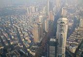 Aerial View Of Nanjing China