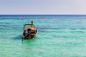 Lonely Longtail Boat