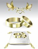 Decoration items for marriage gold