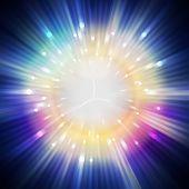 Star Light Aura In Universe