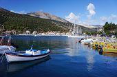 Port in Agia Efimia