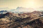Beautiful Mountains In The Arabian Desert