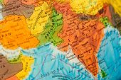 foto of south east asia  - map of India - JPG