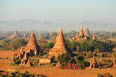 Ancient Pagodas In Bagan, Myanmar