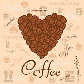 coffee beans art