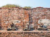 Destroyed Buddha Statue