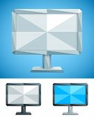 Low Poly Monitor