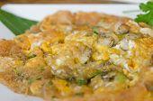 Oyster Omelett