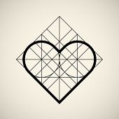 Abstract Heart Sign