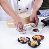 Chef Presented Chinese Dim Sum